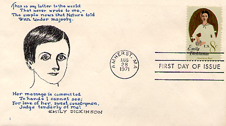 The Emily Dickinson Stamp